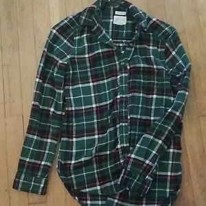 AE. Amazingly Soft Button-down flannel
